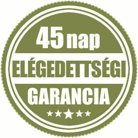 45 napos Pénzvisszafizetési Garancia